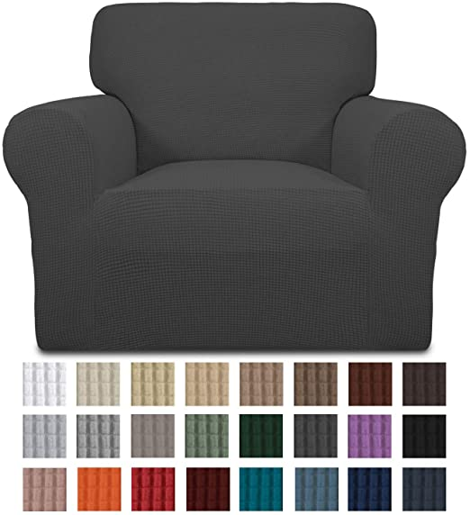 Amazon.com: Easy-Going Stretch Chair Sofa Slipcover 1-Piece Couch .