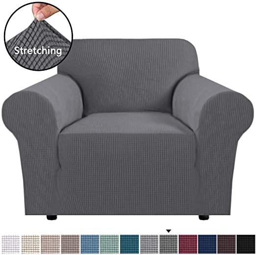 Amazon.com: H.VERSAILTEX Stretch Chair Slipcover Sofa Cover .