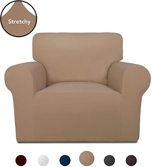 Amazon.com: PureFit Super Stretch Chair Sofa Slipcover – Spandex .