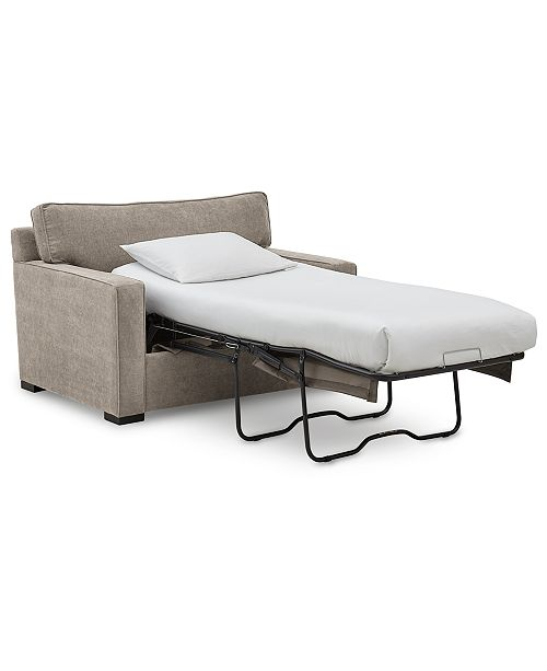 """Furniture Radley 54"""" Fabric Chair Bed, Created for Macy's ."""