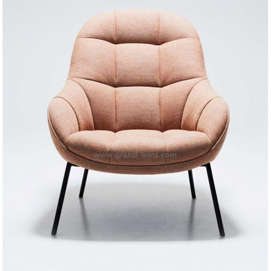 China Nordic Single Sofa Chair Hotel Club Fabric Lounge Chair .