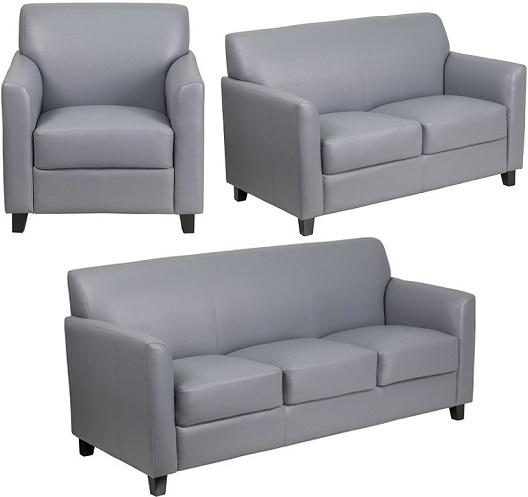 Gray Office Sofa Furniture- Majes