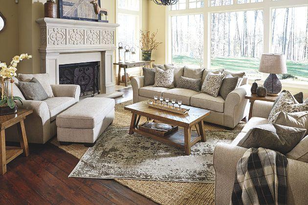 Jute Baxley Sofa Sofa, Loveseat, Chair/Ottoman neutral simple .