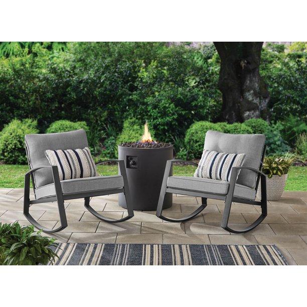 Mainstays Asher Springs 2pc Rocking Chair Set - Walmart.com .