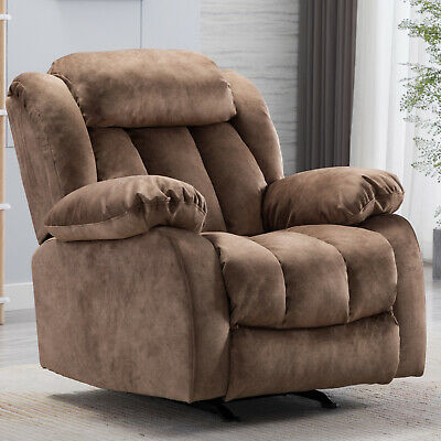 Rocker Chair Manual Recliner Baby Nursery Glider Padded Couch Sofa .