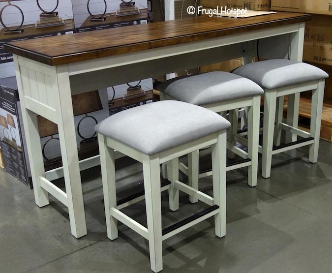 Costco - Bayside Furnishings Sofa Table Set $399.99 | Frugal Hotsp