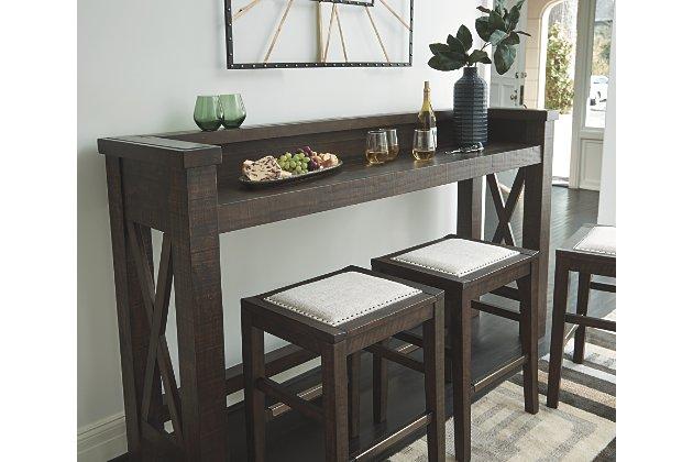 Hallishaw Bar Height Table | Ashley Furniture HomeSto