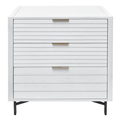 222 Fifth Portland White 3 Drawer Chest at Lowes.c