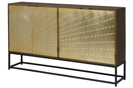 Solar Refinement Sideboard On Stand | Living Spac