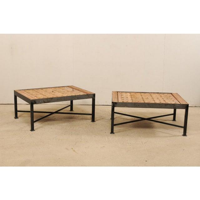 18th Century Spanish Coffee Tables - a Pair | Chairi