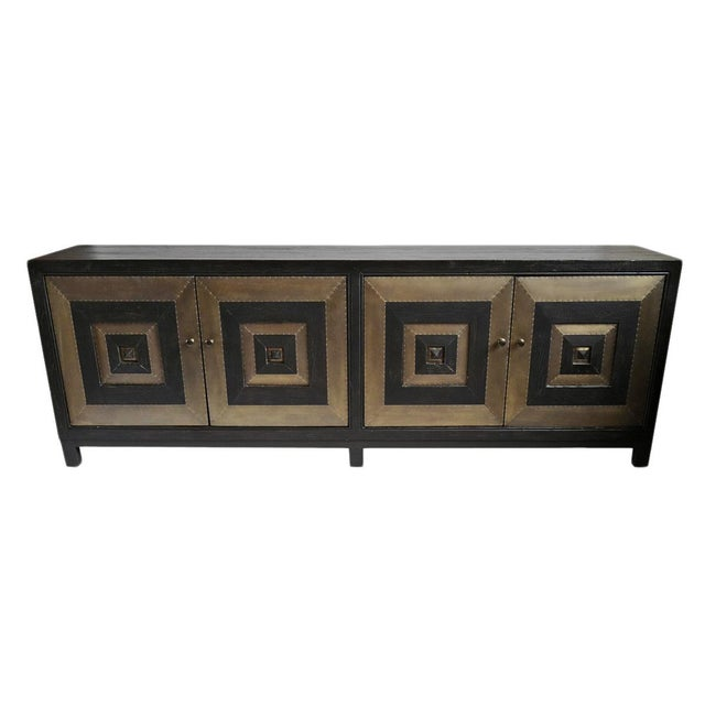 Modern Brass Square Sideboard | Chairi