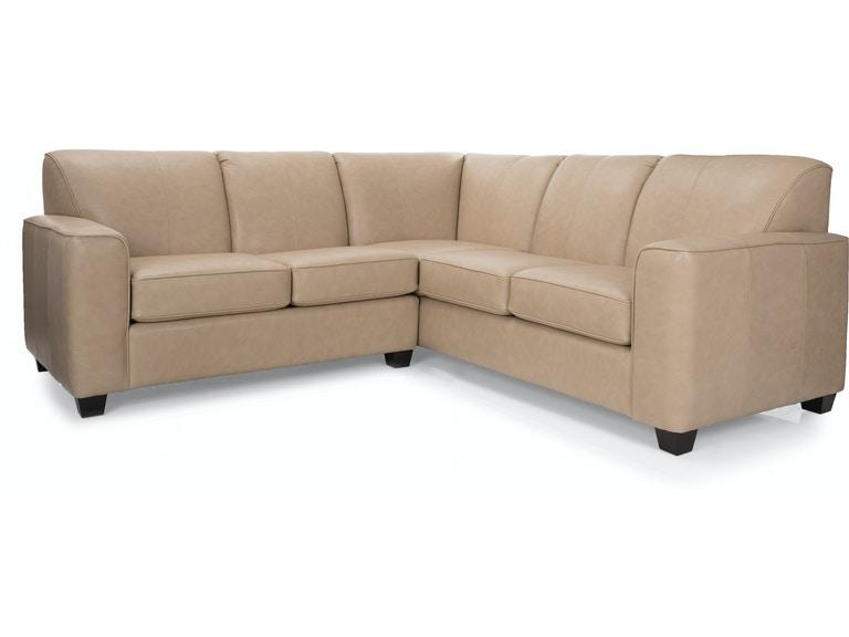 Decor-Rest Living Room 3705-Sectional - Hennen Furniture - St .