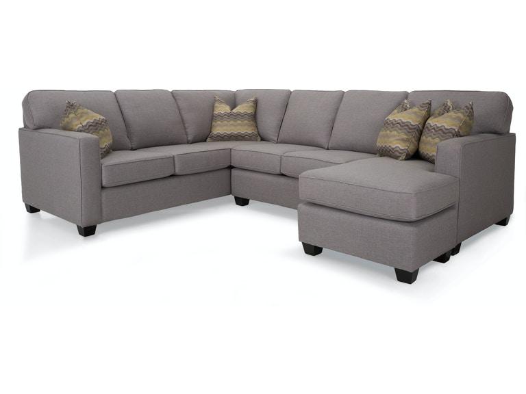 Decor-Rest Living Room Left Hand Facing Sofa 2541-17 LHF SOFA .