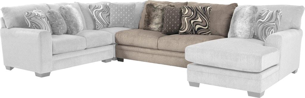 Jackson Furniture Living Room Armless Sofa 447230 - Hennen .