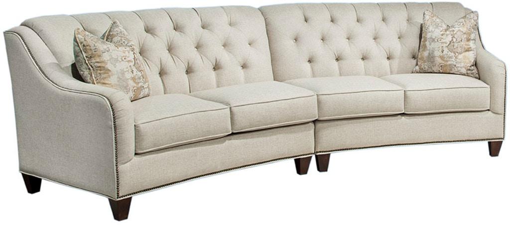 Marshfield Furniture Living Room 1948-Sectional - Hennen Furniture .