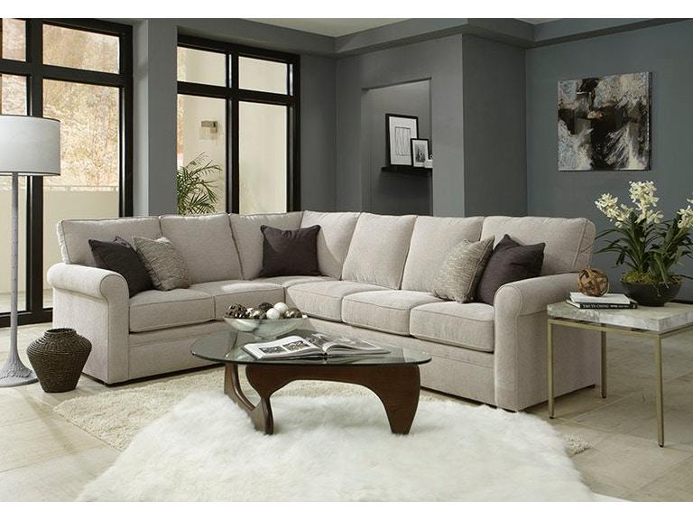 Overnight Sofa Living Room 303-Sectional - Hennen Furniture - St .