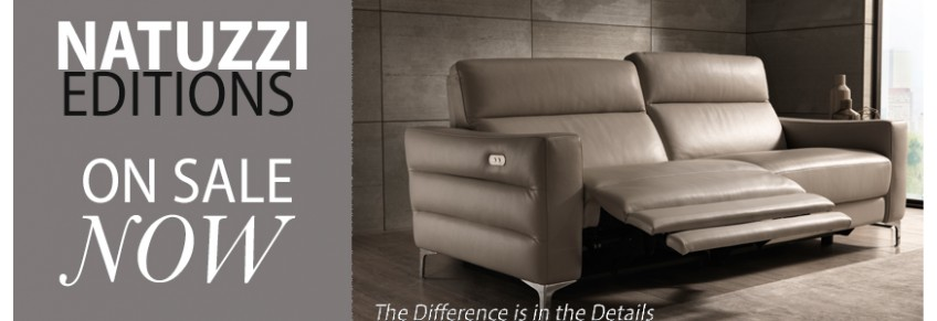 St Louis Natuzzi Furniture buy Leather Sofas & Reclining Sectiona
