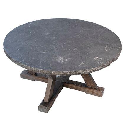 Dovetail Stone Top Coffee Table - Vander Berg Furniture and Floori