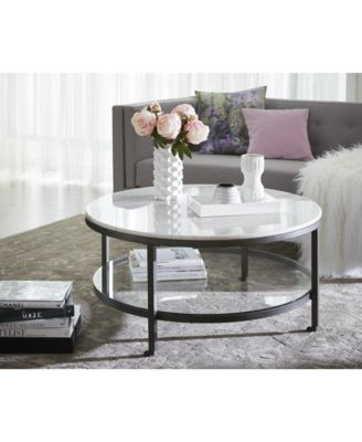 Stratus Round 2-Pc. Set (Coffee & End Table), Created for Macy's .