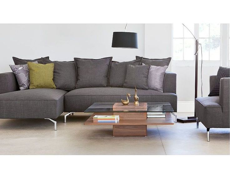 Kennedy Sectional Sofa | Kennedy (Charcoal) Sectional Sofas .