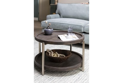 Swell Round Coffee Table | Living Spac