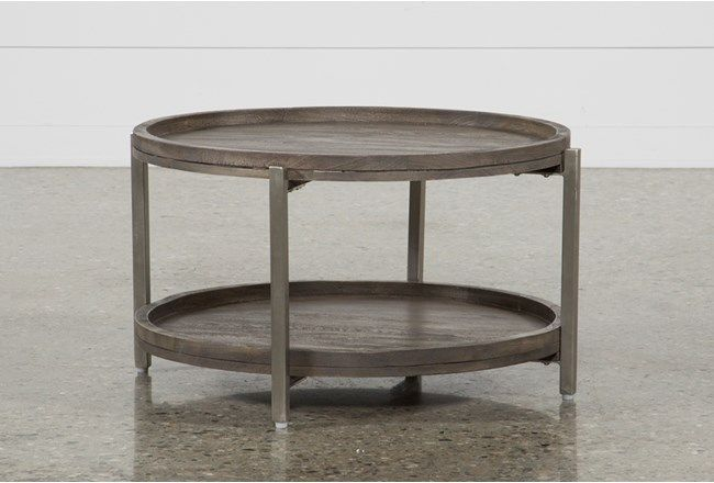 Swell Round Coffee Table (With images) | Round coffee table .