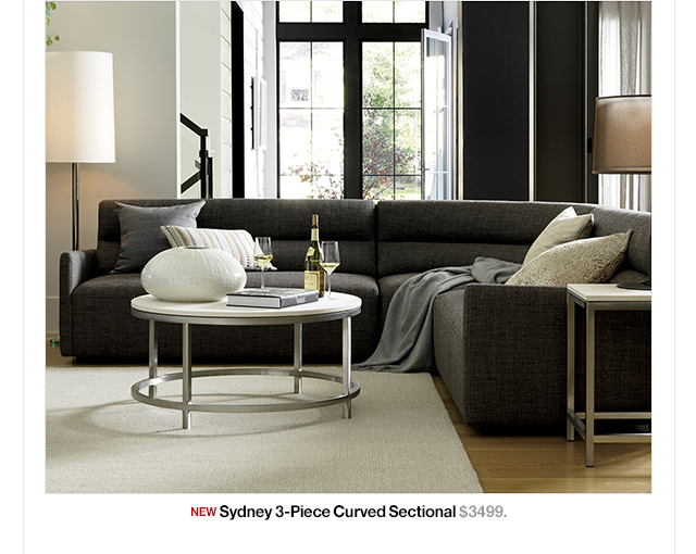 Crate and Barrel: Round out your living space. | Mill