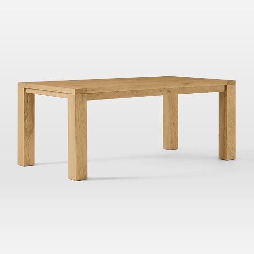 Tahoe Solid Wood Dining Table - Natural O