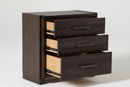 Teagan 3-Drawer Nightstand With USB | Living Spac