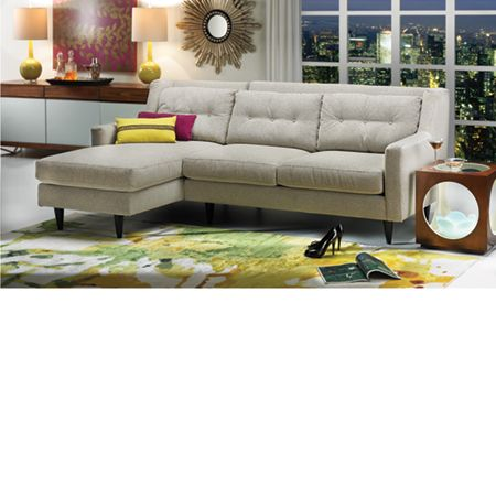 In love with this sectional! The Dump Furniture Outlet - DEL REY .