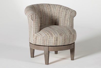Cleo Swivel Accent Chair | Living Spac