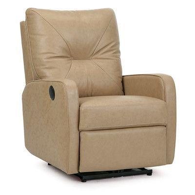 Palliser Furniture Theo Swivel Rocker Recliner Upholstery: Leather .