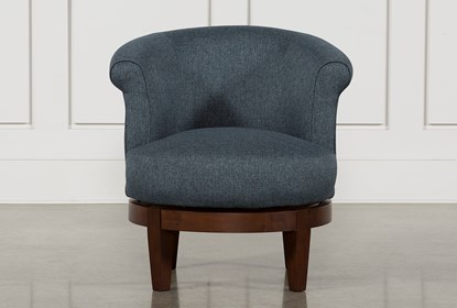 Theo II Accent Swivel Chair | Living Spac