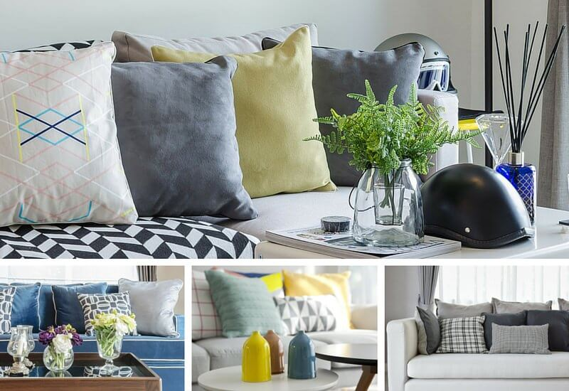 35 Sofa Throw Pillow Examples (Sofa Décor Guide) - Home Stratosphe