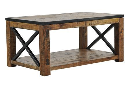 Tillman Rectangle Lift-Top Coffee Table | Rectangle cocktail table .