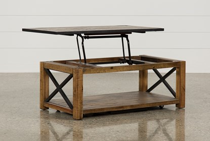 Tillman Rectangle Lift-Top Coffee Table | Living Spac
