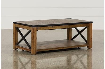 Tillman Rectangle Lift-Top Coffee Table | Living Spac