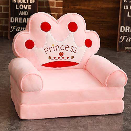 WAYERTY Children's Armchair Children Sofa Cartoon Girl and .