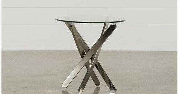 Torrin Round End Table - Main | End tables, Table, Table furnitu