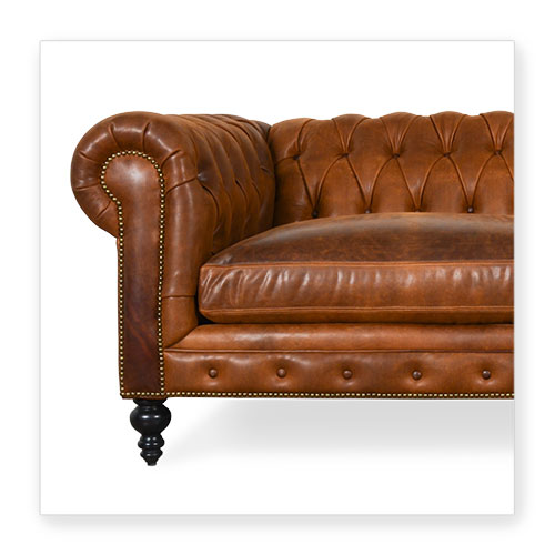 COCOCO | Chesterfield Leather Collection - Made in U