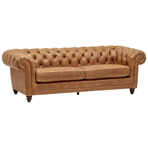 Chesterfield Sofa Leather: Amazon.c