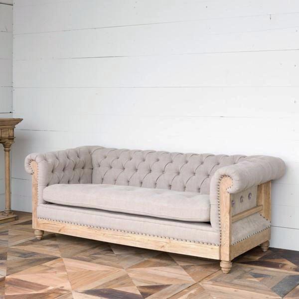 Turner Tufted Linen Sofa – Purple Rose Ho