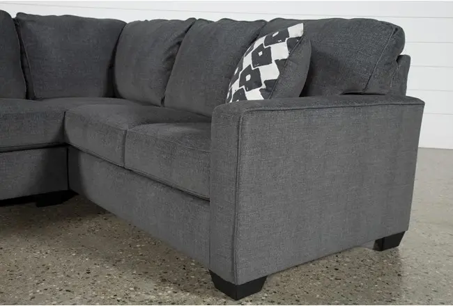 Ashley Turdur 2 Piece Sectional Sofa with Left Arm Facing Loveseat .