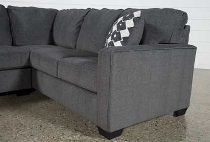 Turdur 2 Piece Sectional With Left Arm Facing Loveseat | Living Spac