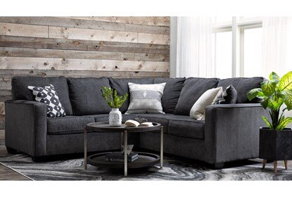 Turdur 2 Piece Sectional With Right Arm Facing Loveseat | Living .