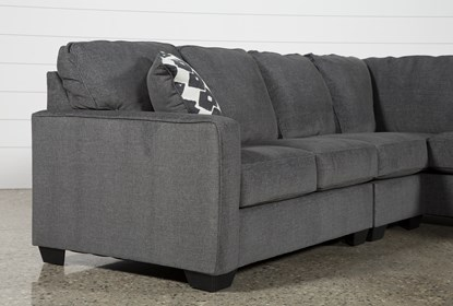 Turdur 3 Piece Sectional With Left Arm Facing Loveseat   Living Spac