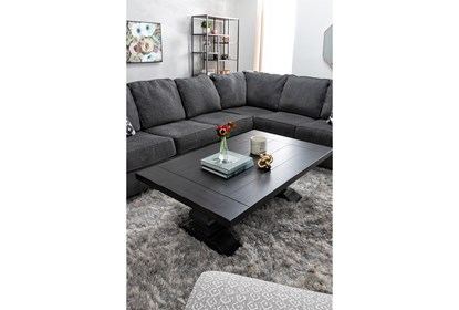 Turdur 3 Piece Sectional With Left Arm Facing Loveseat | Living Spac
