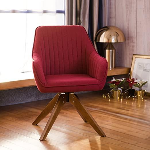 Amazon.com: Art Leon Mid-Century Modern Swivel Accent Chair .