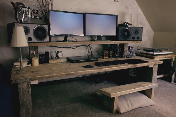 30+ Modern Computer Desk and Bookcase Designs Ideas For Your .