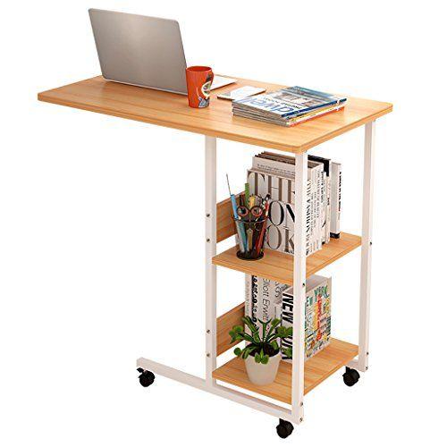 LIANG-S Computer Desk, C-Mobile Computer Desk, Solid Wood Living .